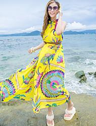 Women's Dresses , Polyester Beach Khutoria