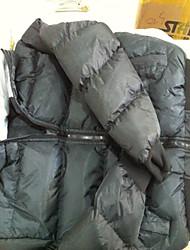 Power Man Classic Detachable Hoodie Padded Coat(Black)