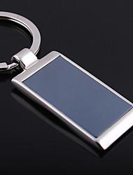 Personalizado gravado dom Retângulo Keychain