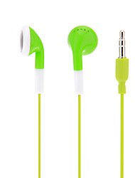 In-Ear pour iPod/iPad/iPhone/MP3 (vert)