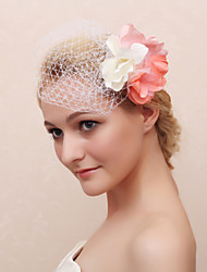 Flower Girl's Fabric Headpiece - Casual Flowers