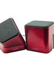 Havit USB 2.0 Mini-Lautsprecher Verwendung für Computer / iPad / Handy