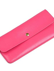 Women New Fashion 100% Genuine Leather Lovely Card Holder and Wallet