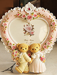 """7.75""""H Lovely Polyresin Picture Frame"""