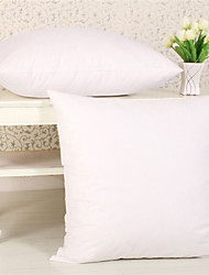 "Set of 2 Polyester Free Fill Pillow Insert (18"" Square)"