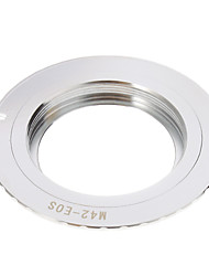 M42-EOS Camera Lens Adapter Ring (Argent)