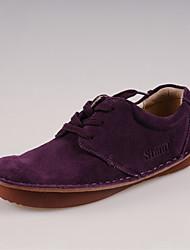 Simul Chaussures Mode personnalisé de bateaux (Violet)