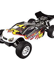 1/10 Scale 4WD elétrico Brushless RC Truggy RTR (Black)