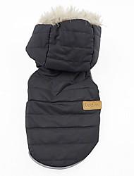 Dog Coat / Vest Black / Blue / Pink Winter SolidDoglemi, Dog Clothes / Dog Clothing