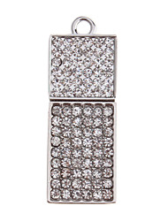 Característica del metal del diamante del flash del USB 4G