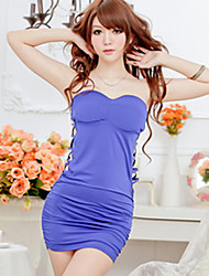 Zhengli Sexy Strapless vestido de noite