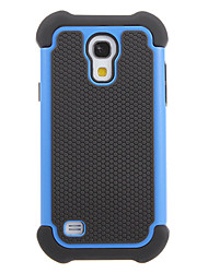 Híbrido Heavy Duty Rugged Hard & Soft Case Capa Voltar para Samsung Galaxy S4 Mini I9190