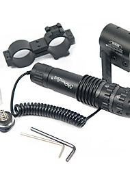 Green Laser Hunting Scope Black Aluminium Alloy With Mount