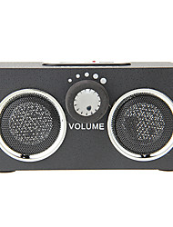 Portable Multimedia Speaker with USB SD MMC Slot Remote Control (HY-A15)