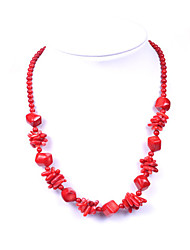 CUISHANG Pure Coral LT10029 Necklace