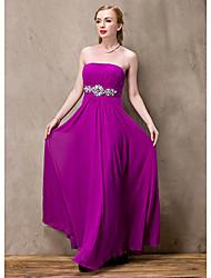 Mince élégante de demoiselle d'honneur robe des femmes