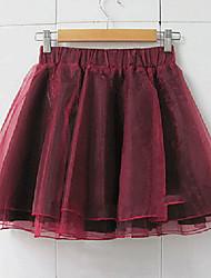 Vintage Dulce elegante falda de cintura alta de la Mujer