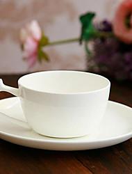 Elegante tazza di caffè, porcellana 5 once