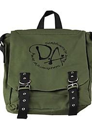 Harry Potter Dumbledurer Exército Logo Bordado Bolsa Verde Sling Mensagem Bag