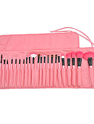 Make-up For You® 24pcs Makeup Brushes set  Limits bacteria/Professional  Pink Blush/shadow/Lip/Lash/Liner/Powder/Concealer/Foundation Brush Tool