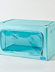 Classic Solid Minimalist Transparent Storage Box