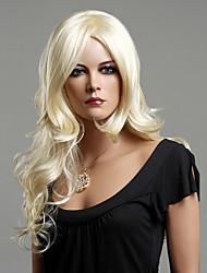 Kanekalon японца 100% синтетическое длинными вьющимися парик (пепельный блондин)