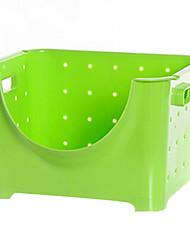 Moda rettangolare di plastica Basket archiviazione - 2 colori Disponibile