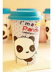 Hold the Bear Coffee Mug,Porcelain 16oz