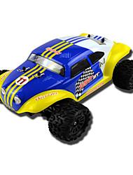 1/18 Scale 4WD Baja escovado (cores sortidas)