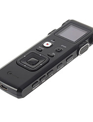Co-crea 8GB 2.0USB Multi Language FM Tuner Professional Digital Voice Recorder Black