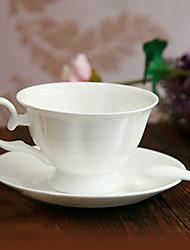 British Coffee Mug,Porcelain 6oz