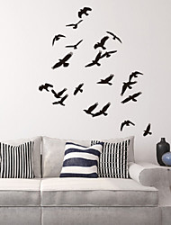 Animal Flock of Geese Decorative Wall Stickers