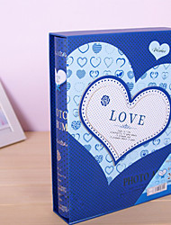 Blue Card Paper Cover Photo Album