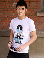 Neuf T-shirt blanc de D & M Hommes