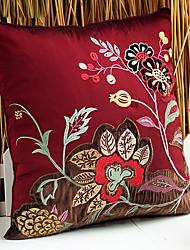 Poliéster Cojín con Relleno , Floral Euro