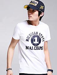 1 T-shirt blanc de D & M Hommes