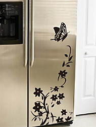 Butterfly Flower Fridge Wall Stickers Wall Decals House Decor