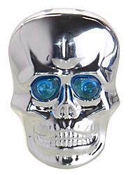 Esqueleto Estilo Modo 6 metal Ciclismo Taillight Com Laser