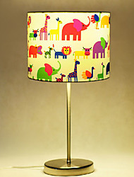 Children Table Lamps, 1 Light, Cartoon Stainless Steel Fabric Painting