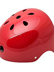MOON Radfahren Red ABS / EPS Erwachsene 11 Vents Mehrzweck-Helm (Größe L)