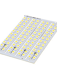 DIY 1.5W 24x3528SMD 30-60LM 3000-3500K Warm White Light LED PCB Board (12V)