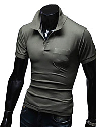 Men's Turndown Collar Polo Shirt