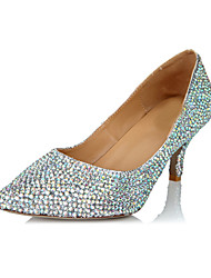 Women's Shoes Pointed Toe Stiletto Heel Leather Pumps Shoes More Colors available