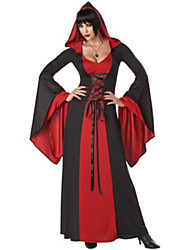 Bloody Vampire Deluxe Red Polyester Women's Halloween Party Costume
