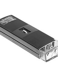 Éclairée 30x lumineux microscope de poche Loupe avec Mise au point réglable et Source de lumière