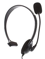 Одноместный гарнитура с микрофоном для PS4 (черный)