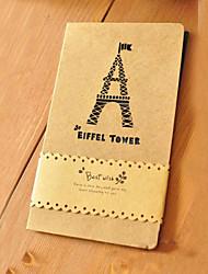 Cut-out Torre Eiffel di disegno Greeting Card