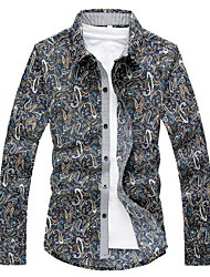 Men's Casual Shirts , Cotton Casual KAYING