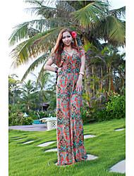 Women's Dresses , Chiffon/Polyester Beach/Casual HERA