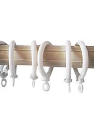 Fantaisie de style Roma solide CILP Ring (Diamètre 3,4 cm)